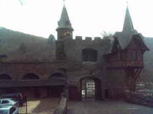 Das Burgtor von innen gesehen