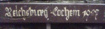 Reichsburg Cochem 1927
